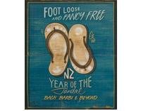 Foot Loose Jandals by Jason Kelly