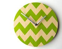 Chevron Wall Clock