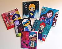Gift Card Set  - 6 Cards all different