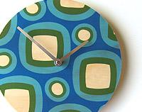 """Geo Retro"" Wall Clock"
