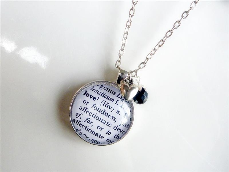 Discover me funkyglam jewellery the meaning of pendant the meaning of pendant love or friend in antiqued brass or silver aloadofball Choice Image