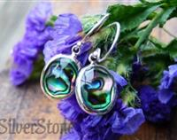 Paua shell earrings - inspired by NZ oceans