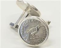 New Zealand Coin Cufflinks