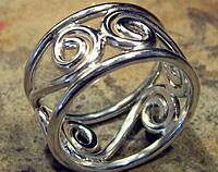 Heavy Koru Ring