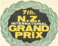 NZ International Grand Prix Poster