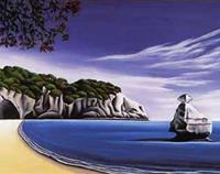 Cathedral Cove by Diana Adams