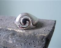 Made in NZ, Silver Koru Ring