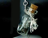Vial of Wishes - Dandelion Seeds and lucky charms