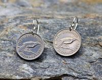 Sixpence earrings