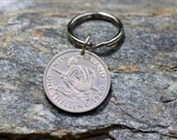 Shilling Key Ring