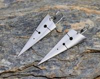Scalene Sterling Silver earrings