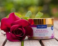 Moisturiser (rich) - Roses & Honey 50g