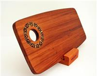 Recycled Rimu Serving Board with Punga wood inlay