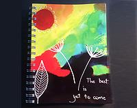 Lined Notebook - The Best is Yet to Come