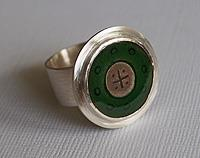Green & Grey Ring