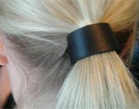 Leather Hair Cuff 2cm