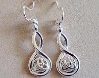 Celtic Goddess Earrings