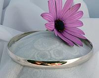 Made in New Zealand - solid sterling silver bangle