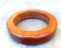 Recycled Rimu Rounded Bracelet - Rescued Christchurch Earthquake Wood