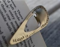Brass Stamped Bookmark