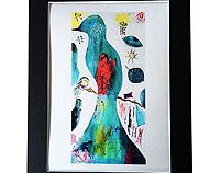 Jungle Bird Framed Print