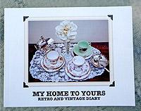 My Home to Yours - Retro and Vintage Diary