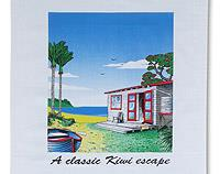 A Classic Kiwi Escape - Tea Towel