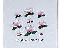 A Classic Kiwi Red Pohutukawa - Tea Towel