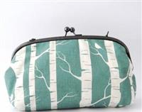 Birch Forest Curved Bobble Bag
