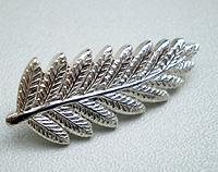 Fern Brooch small - sterling silver