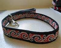 Koru dog leash - handmade to order