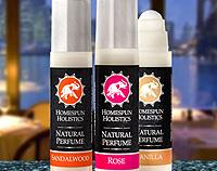 Rose Blend - Natural Perfume by Homespun Holistics