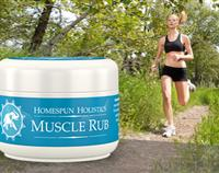 Muscle Rub by Homespun Holistics