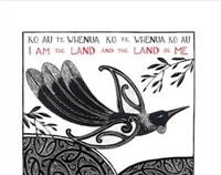 "Amber Smith Print ""I am the Land"""