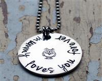 Mummy Loves You Pendant