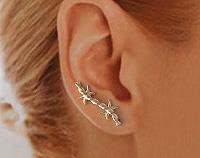 EarWings, Ear Climbers, Minimilist Earrings, TW17