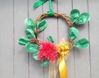 Pohutakawa Christmas Wreath