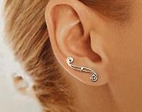 EarWings, Ear Climbers, Minimilist Earrings, TW21