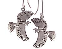 Tui Earrings in Sterling Silver