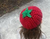 Crochet Tomato Child Hat
