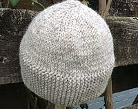 Men's Pure Wool Beanies in Natural Colours