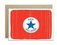 All Star Dad Card