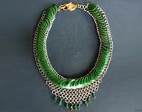 Green Scales Necklace