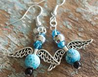 Angel Earrings Turquoise