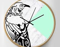 Mint Tui Clock