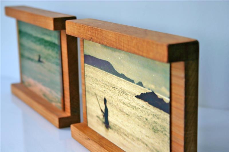 Discover Me : Wood2Water : Recycled Kauri 6x4 Photo frame, Handmade ...