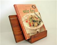 iPad/ tablet cookbook stand with removable serving board