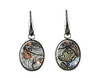 Winnie the Pooh - British Postage Stamp Earrings