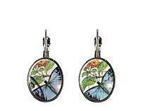 Ulysses Butterfly - Australian Postage Stamp Earrings