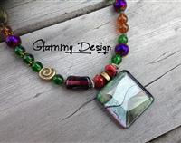 Hobbiton Glass Pendant Necklace
